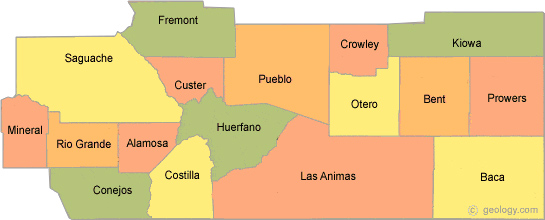 Service Area for Pueblo CIL